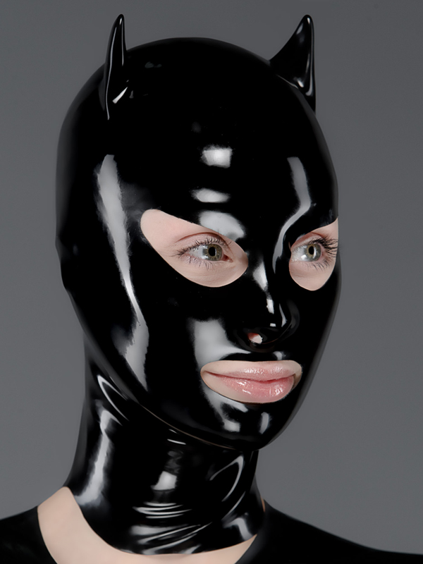 Latex Mask Nose And Mouth Rubber Mask Polymorphe Latex Mask With Back Zip A-03