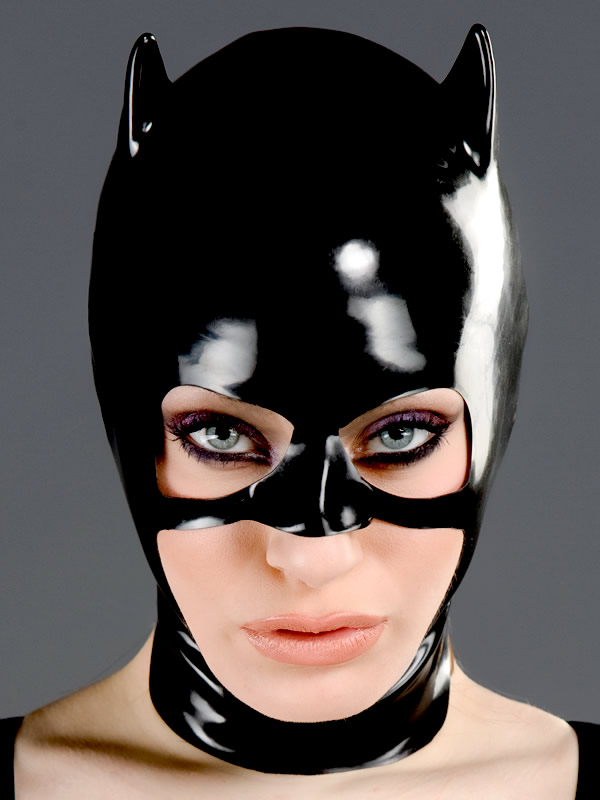 shop latex masks catwoman style latex catmask j 01