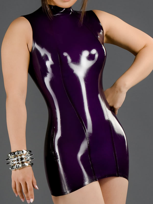 latex-princess-line-dress-dr-012-front