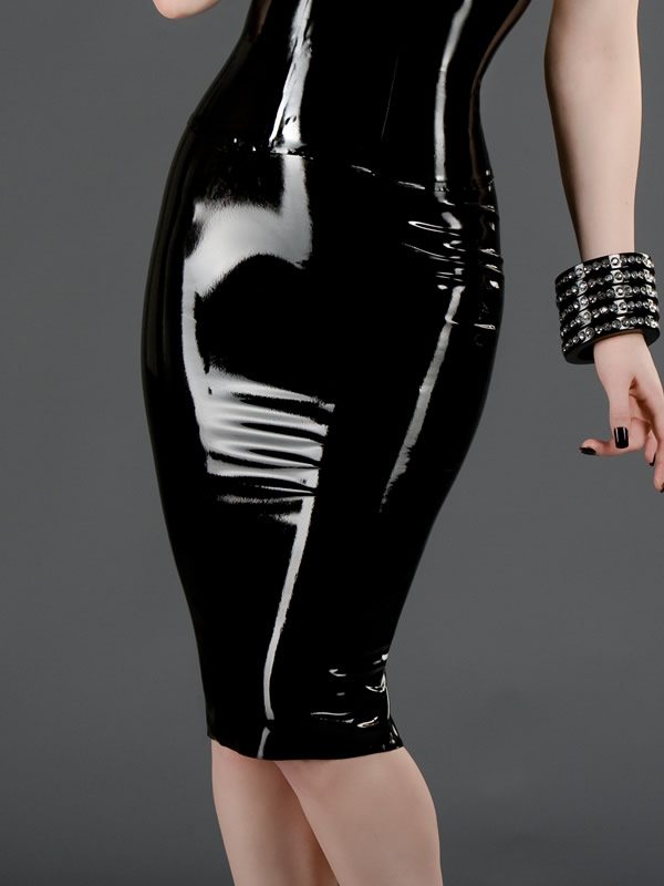 latex-womens-pencil-skirt-sk-047-front2