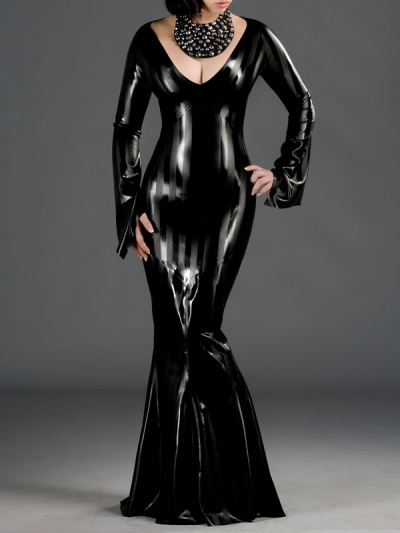 latex-style-dress-dr-131str-front