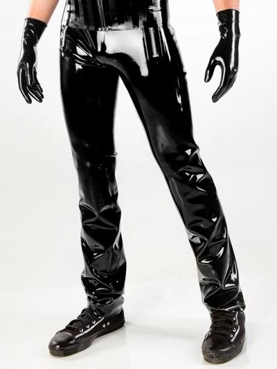 Mens latex pants