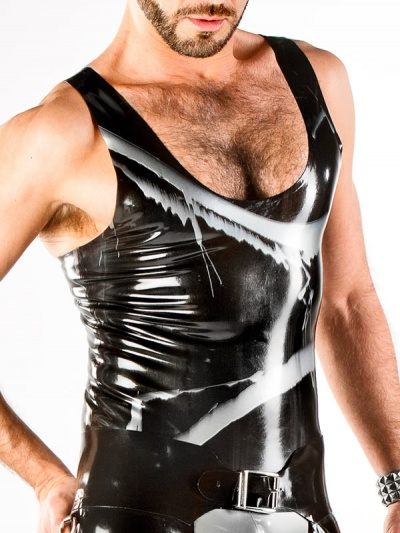 mens-latex-tank-top-ve-071m