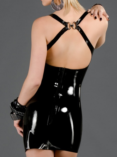 latex-cocktail-dress-dr-068-back
