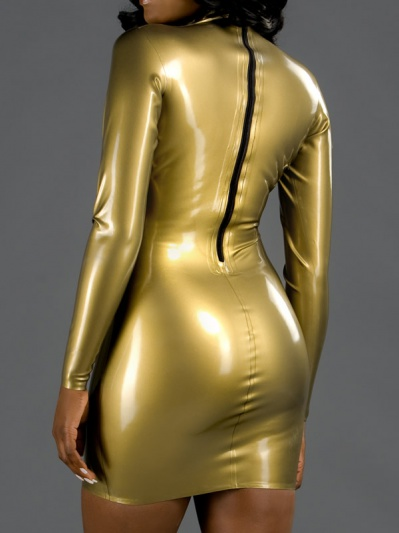 latex-long-sleeve-dress-dr-096-back