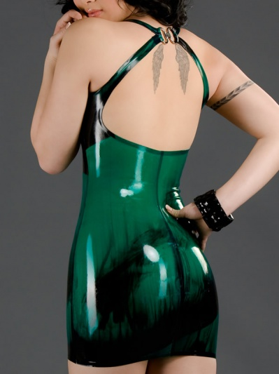 latex-marbled-cocktail-dress-dr-069m-back