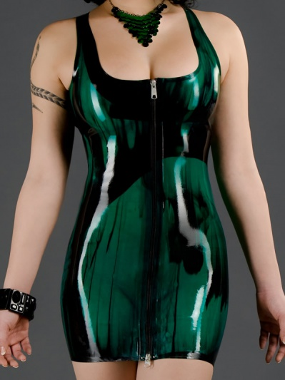 latex-marbled-cocktail-dress-dr-069m-front