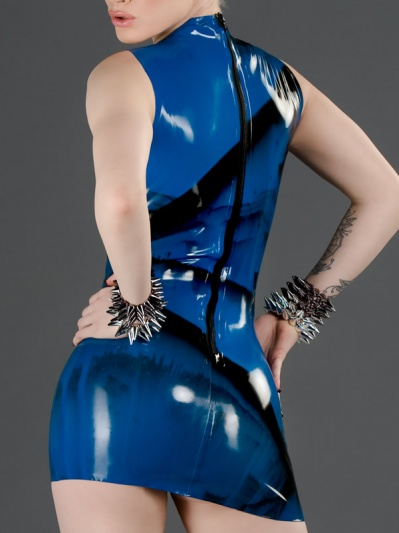 latex-marbled-princess-line-dress-dr-012m-back