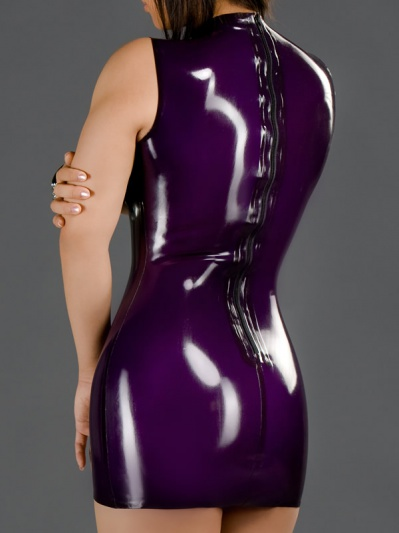 latex-princess-line-dress-dr-012-back
