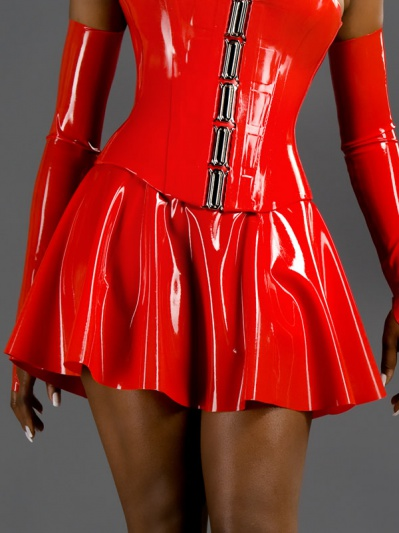 latex-womens-a-line-skirt-sk-001-front