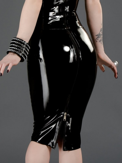 latex-womens-pencil-skirt-sk-047-back