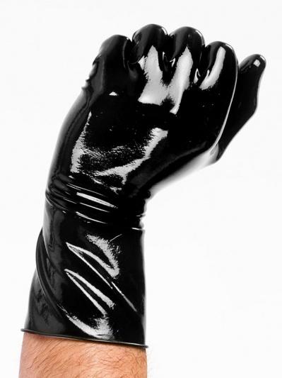 Latex Gloves - Polymorphe F(x) Amber Red Light